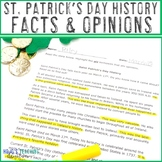 Saint Patrick's Day History Literacy Center