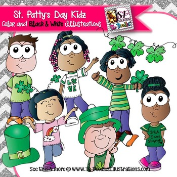 Saint Patrick's Day Kids Clip Art