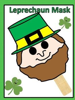 Saint Patrick's Day Leprechaun Mask