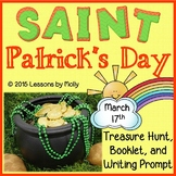 Saint Patrick's Day - Treasure Hunt, Booklet, and Writing Prompt