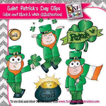Saint Patrick's Day Leprocahns clip art