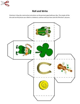 Saint Patrick's Day Literacy Center