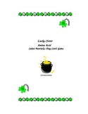 Saint Patrick's Day Lucky Clover Card Game: Genetics and Protein Synthesis