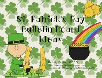 Saint Patrick's Day Bulletin Board Ideas