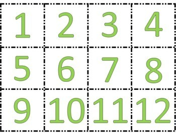 Saint Patrick's Day Math Sorts - Subitizing and Math Facts