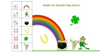 St. Patrick's Day Math Centers