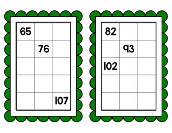Saint Patrick's Day Math Centers