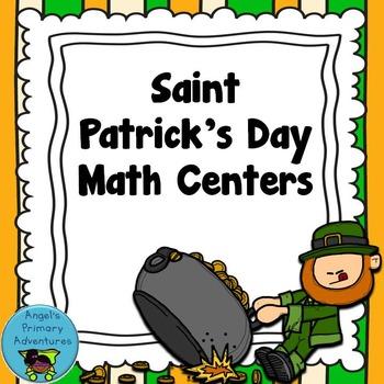 Saint Patrick's Day Math Centers