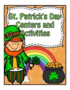 St. Patrick's Day Unit