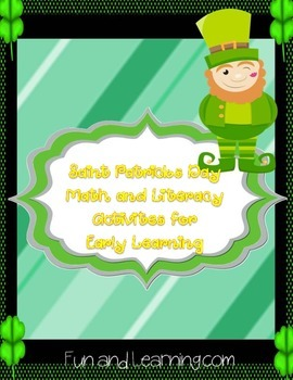 Saint Patrick's Day Math and Literacy for Early  Learning