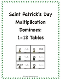 Saint Patrick's Day Multiplication Dominoes: 1-12 Tables eBook