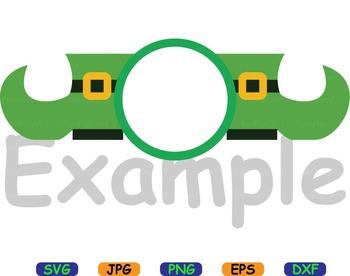 Saint Patricks Day Owls SVG clip art Irish four leaf clover good luck flag -82S