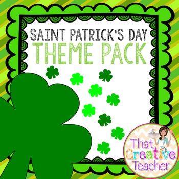 Saint Patrick's Day Pack