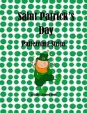 Saint Patrick's Day Patterning Strips