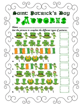 Saint Patrick's Day Patterns