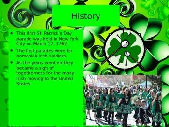 Saint Patrick's Day Powerpoint