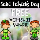 Free St. Patrick's Day Worksheets