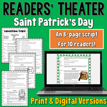 Saint Patrick's Day Readers' Theater Script (5-10 parts)