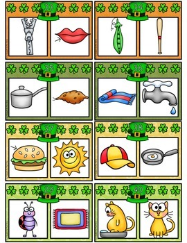 Saint Patrick's Day Rhyming Center