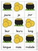 Sight Word Games in French with a Saint Patrick's Day Theme