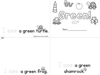 Saint Patrick's Day Themed Emergent Readers - 3 mini-books