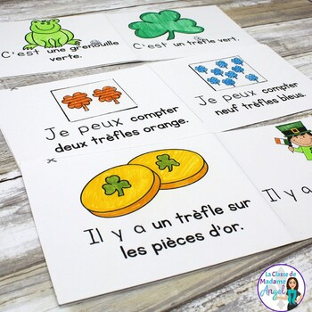 Saint Patrick's Day Themed Emergent Readers in French - 3 mini-books