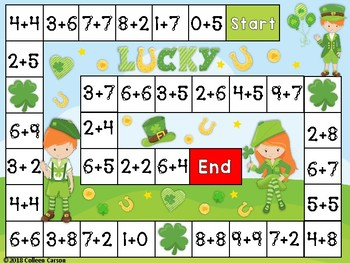 Saint Patricks Day Touch Point Addition