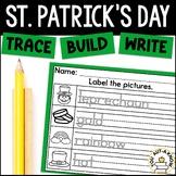 Saint Patrick's Day Trace, Write, Color FREEBIE!