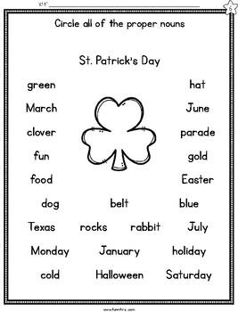 Saint Patrick's Day Week Long Fluency