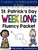 Saint Patrick's Day Week Long Fluency Packet - Week 2 of M