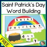 Saint Patricks Day Word Building