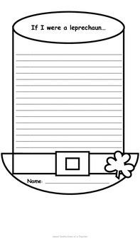 Saint Patrick's Day Writing Paper
