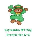 Saint Patrick's Day Writing Prompts K-3