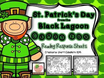 Saint Patrick's Day from the Black Lagoon FUN Reading Response Sheets