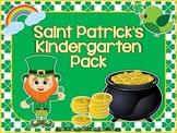 Saint Patrick's Kindergarten Pack