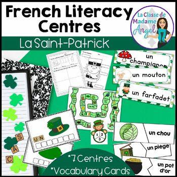 Saint Patrick's Day Literacy Activities in French!  Le jour de la Saint Patrick