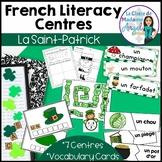 La Saint Patrick:  Saint Patrick's Day Literacy Activities in French!