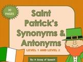 Saint Patrick's Synonyms & Antonyms