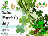 Saint Patrick's day full lesson with PPT and booklet for beginners ESL