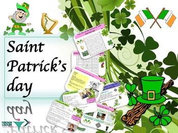 Saint Patrick's day, PPT for beginners ESL