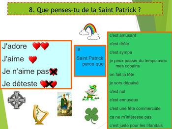 French Saint Patrick's day, la Saint Patrick PPT for beginners