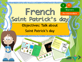 French Saint Patrick's day, la Saint Patrick PPT for beginners