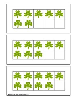 Saint Patricks's Day Counting and Cardinality Centers for Kindergarten
