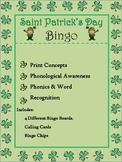 Saint Patty's Day Bingo