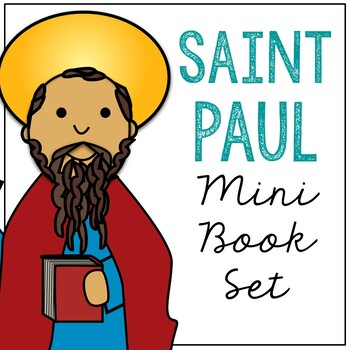 Saint Paul l Mini Book in 3 Formats, Catholic Resource