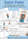 Saint Peter Activities Printable Packet