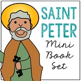 Saint Peter Biography Mini Book in 3 Formats, Catholic Resource