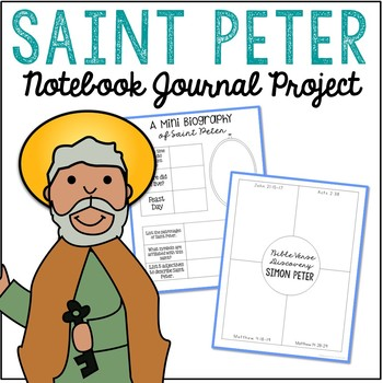 Saint Peter Notebook Journal Project, Christian Resources