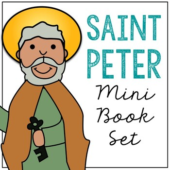 Saint Peter l Mini Book in 3 Formats, Catholic Resource