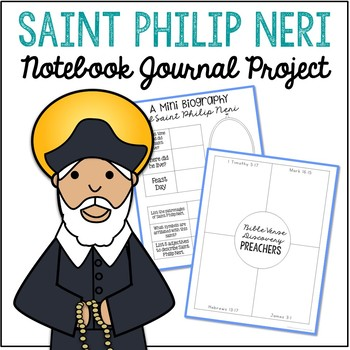Saint Philip Neri Notebook Journal Project, Christian Resources